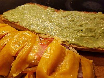 Zubereitung veganes Baguette Bild 5