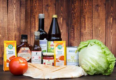 Zubereitung vegane Pulled Jackfrucht Wraps Schritt 1
