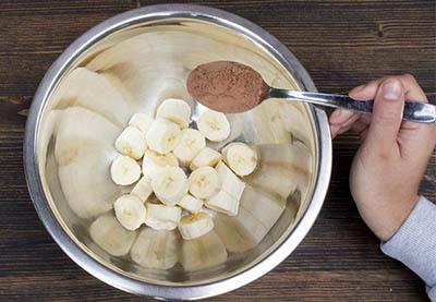 Rezept für vegane Schokocreme aus Mandelmus Schritt 3