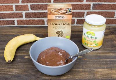 Rezept für vegane Schokocreme aus Mandelmus Schritt 6