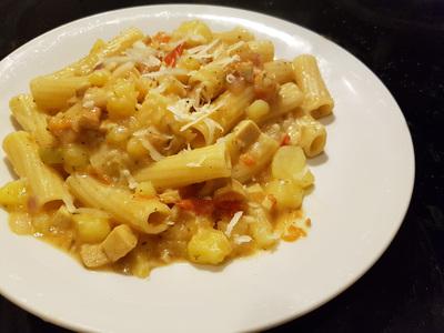 Rezept für Pasta Patata vegan 2