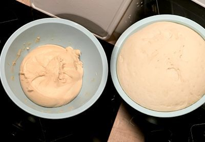 Zubereitung vegane Stutenkerle Schritt 2 Teig gehen lassen