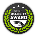 vekoop Top5 Shop Usability Award