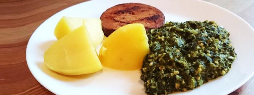 Rezept für veganen Grünkohl nach norddeutscher Art