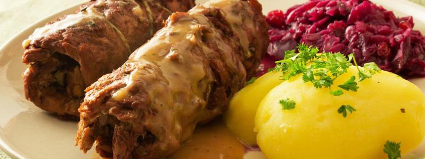 Rezept für vegane Rouladen aus Soja Big Steaks