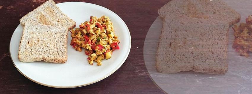 Rezept für veganen Rührtofu bzw scrambled Tofu als Rühreiersatz mit frischem Gemüse