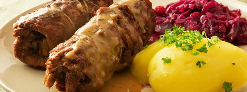 Veganer Adventskalender 2016 Türchen 9: Vegane Rouladen mit Kartoffeln