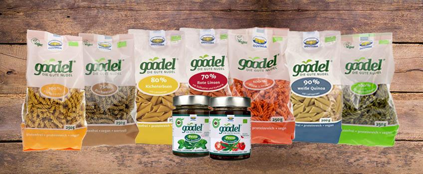 Goodel, die gute Gemüse-Nudel von govinda