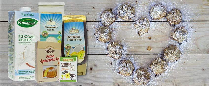 Rezept für vegane Kokosnuss-Makronen