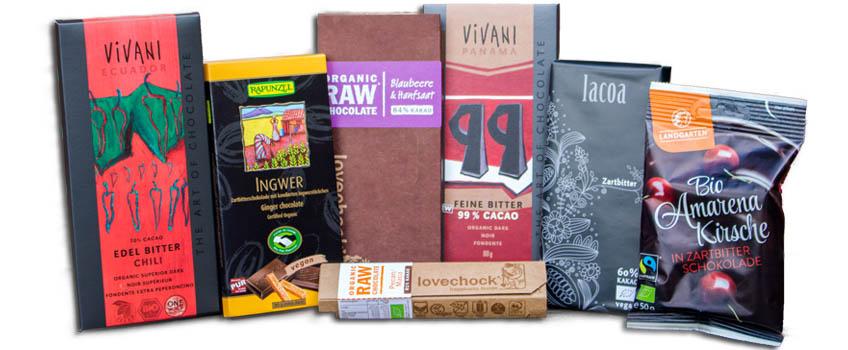 Zartbitterschokolade vegan und lecker im Überblick