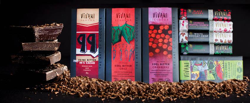 Vivani vegane Schokoladen