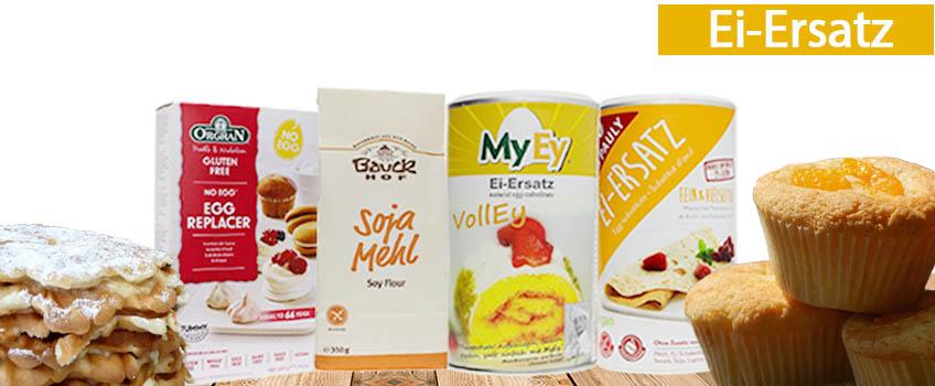 Veganer Ei-Ersatz vorgestellt auf vekoop. Einfach Eiersatz wie MyEy oder NoEgg online bestellen.