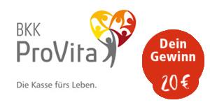 Partnervorstellung: BKK Provita - die Krankenkasse für Veggie-Freunde