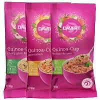 davert Quinoa Cup Tomate Mexikantisch Orientalisch Champignon