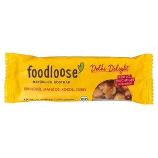 foodloose Bio-Nussriegel Delhi Delight - Bio - 35g