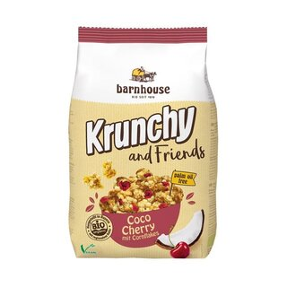 Barnhouse Krunchy and Friends Coco Cherry - Bio - 500g